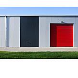 Industry, Warehouse, Garage Door
