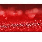 Red, Glitter, Blips
