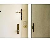 Security & Protection, Locked, Door