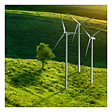 Wind Power, Green Electricity, Wind