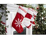 Christmas, Christmas decoration, Christmas socks