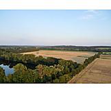 Summer, Aerial View, Brandenburg
