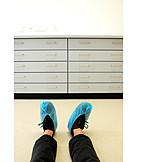 Break, Clinic, Laboratory, Shoe Covers