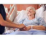 Pflege & Fürsorge, Hand Halten