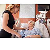 Pflege & Fürsorge, Patientin