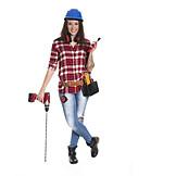 Trainee, Craftsperson female, Construction
