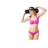 Young Woman, Bikini, Summer