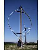 Wind Power, Wind Turbine, Wind, Vertical Axis Wind Turbine