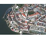 Luftaufnahme, Stadtansicht, Friedrichshafen