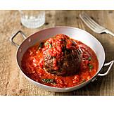 Tomato sauce, Meatballs