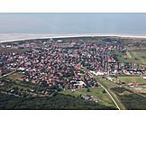 Luftaufnahme, Ostfriesland, Langeoog