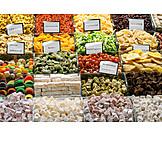 Oriental Cuisine, Candy, Market, Dried Fruit