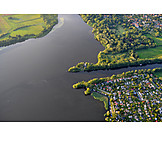 Luftaufnahme, Havelland, Brandenburg