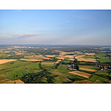 Aerial View, Fields, Brandenburg