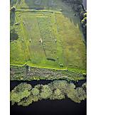 Field, Aerial View, Brandenburg