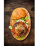 Fastfood, Burger, Amerikanische Küche