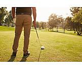 Tee Box, Golfing