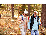 Active Seniors, Walk, Nature