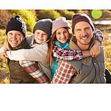 Zusammenhalt, Herbstlich, Familie