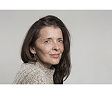 Woman, 45-60 Years, Natural