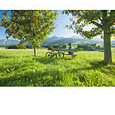 Pause & Auszeit, Radtour, Berchtesgadener Land, Rupertiwinkel