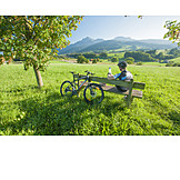 Pause & Auszeit, Radtour, Berchtesgadener Land