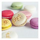 Meringue, Cream filling, Macaron