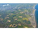 Luftbild, Irland, Inis Oírr