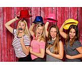 Party, Betrunken, Freundinnen, Verkleiden, Fotoshooting
