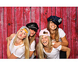 Spaß & Vergnügen, Freundschaft, Freundinnen, Fotoshooting