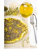 Fladenbrot, Arabische Küche, Zatar