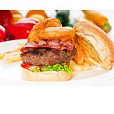 Fast Food, Hamburger, American Cuisine
