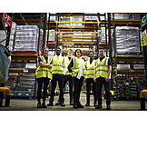 Logistics, Team, Warehouse, Staff, Mail Order Company