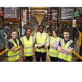 Logistics, Team, Sales, Warehouse Clerk, Mail Order Company
