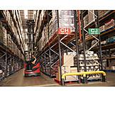 Logistik, Gabelstapler, Gabelstaplerfahrer