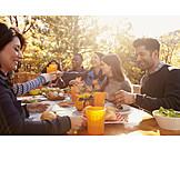 Essen, Herbst, Grillen, Grillparty