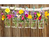 Flowers, Rural Scene, Decoration