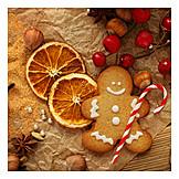 Weihnachtszeit, Adventszeit, Lebkuchenmann
