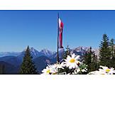 Mountain range, European alps, Austria