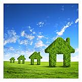 Umweltschutz, Umweltfreundlich, ökohaus