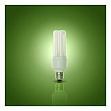 Ecologically, Energy Saving Lamp