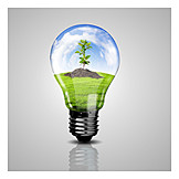 Umweltschutz, Recycling, ökostrom, Regenerativ