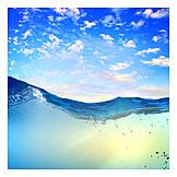 Refreshment, Summer, Wave