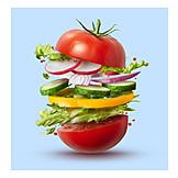 Vegetable, Salad, Ingredient