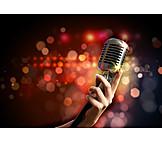 Freizeit & Entertainment, Mikrofon
