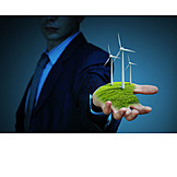 Ecologically, Wind Power, Green Electricity