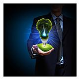 Strom, Alternative Energie, Regenerativ