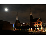 Hamburg, Harbor city, Power house