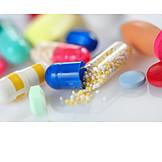 Medikament, Kapsel, überdosis