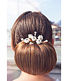 Hairstyle, Bride